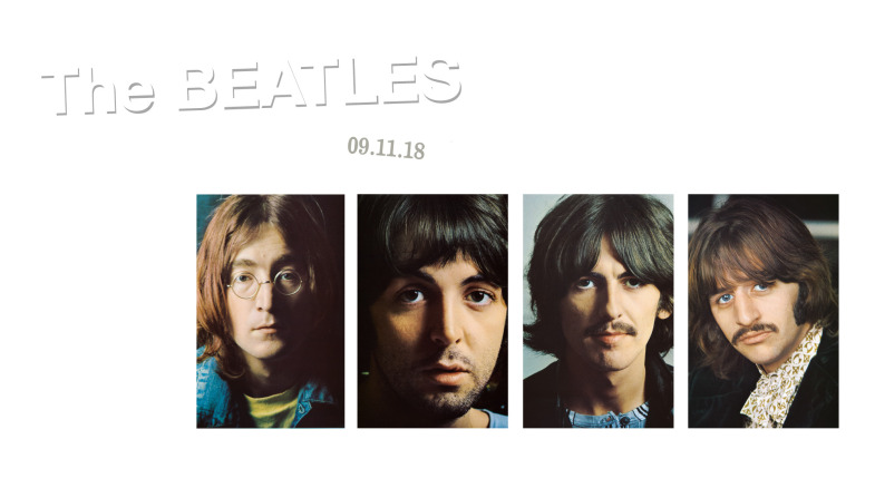 THE BEATLES: l'edizione speciale del White Album in occasione dei 50anni