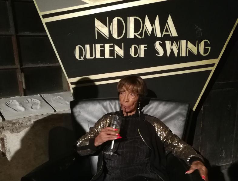 "E' morta NORMA MILLER ""The Queen of Swing"""