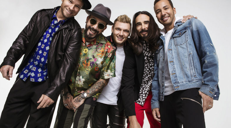 Backstreet Boys, il DNA World Tour arriva in Italia
