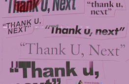 UK SINGLES: N.ro 1 <br>ARIANA GRANDE – thank u, next