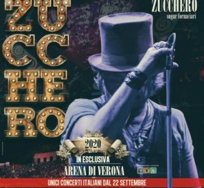 ZUCCHERO: nel 2020 il ritorno live con 10 concerti all'Arena di Verona