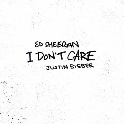 UK SINGLES: N.ro 1 <br>ED SHEERAN & JUSTIN BIEBER – I Don't Care