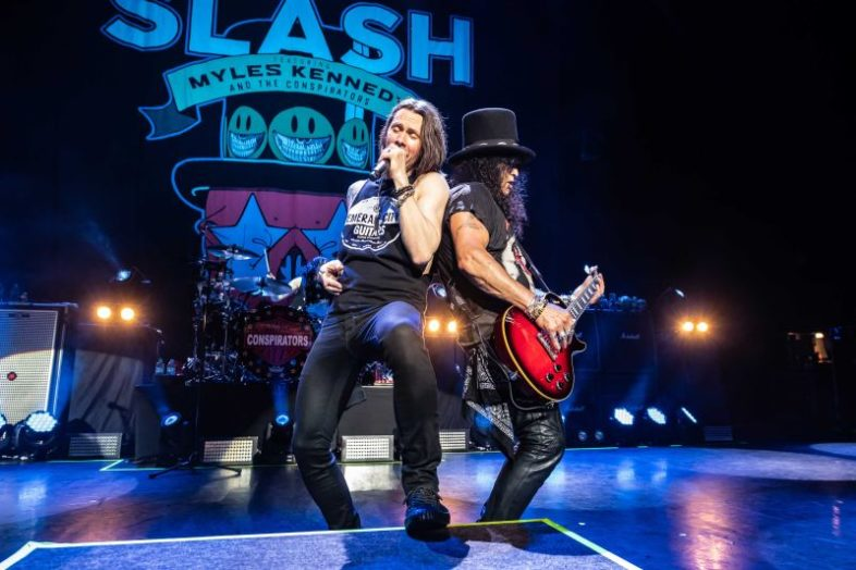 SLASH feat Myles Kennedy and the Conspirators esce a settembre