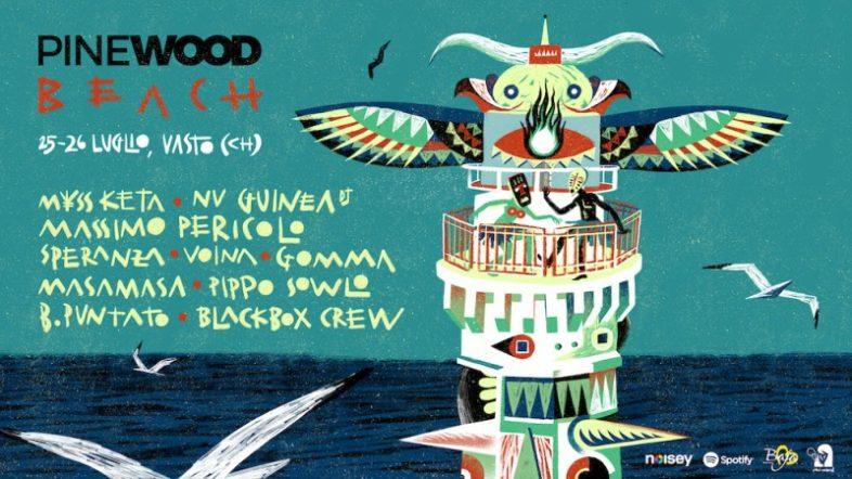 Festival: PINEWOOD BEACH 2019 il 25-26 luglio a VASTO