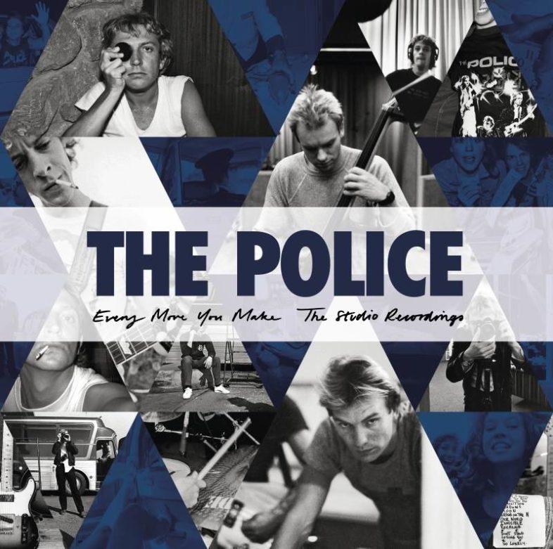 THE POLICE vinili e boxset da 6 CD 'Every Move You Make: The Studio Recordings'