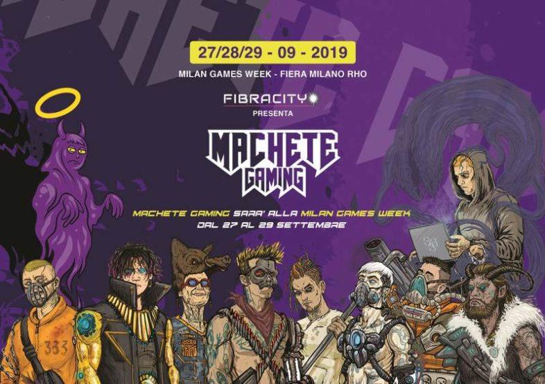 MACHETE si da anche al gaming e partecipa alla Milan Games Week!