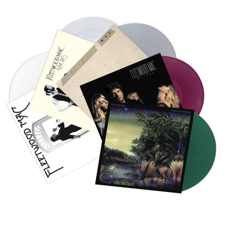 FLEETWOOD MAC cinque iconici della band in vinile colorato