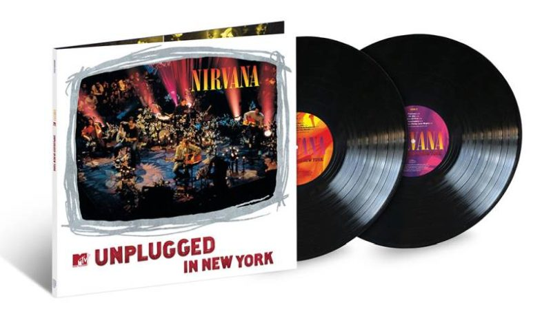 NIRVANA MTV Unplugged in New York ristampato in vinile in occasione del 25° anniversario