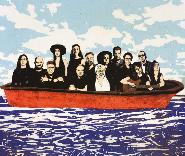Musica: Guccini, la cover dell'album tributo è un'opera di Tvboy