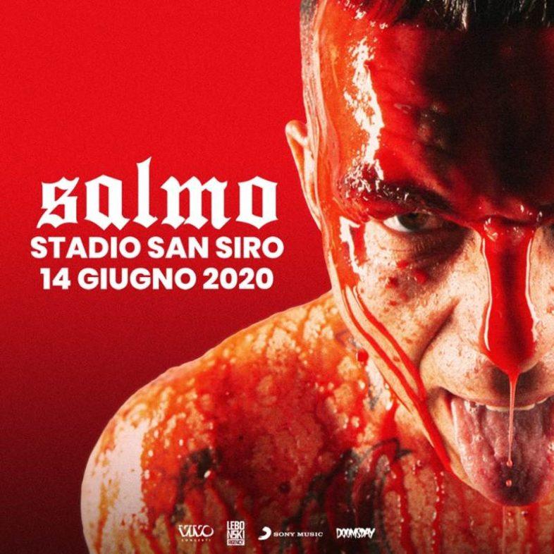 SALMO la sfida di San Siro live il 14 giugno