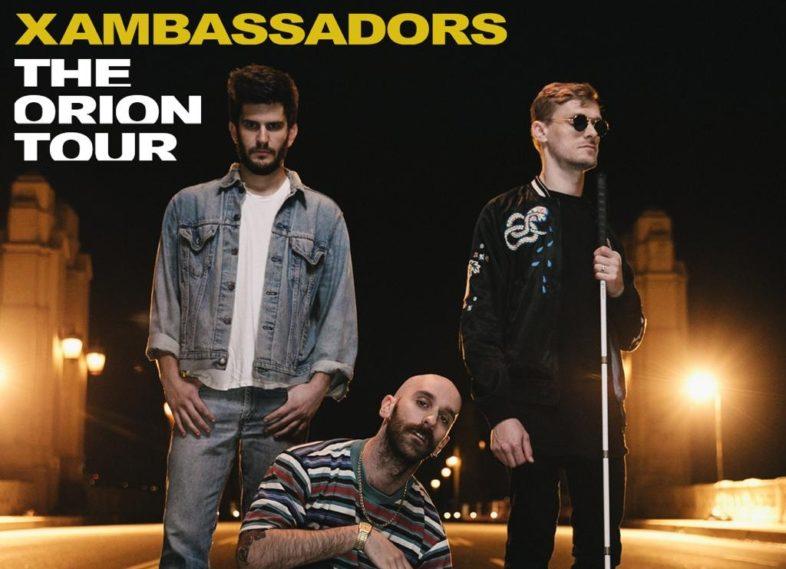 X AMBASSADORS live in Italia il 7 marzo
