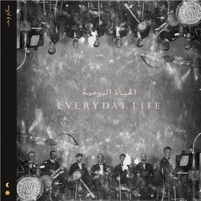 UK ALBUM: N.ro 1 <br>COLDPLAY – Everyday Life