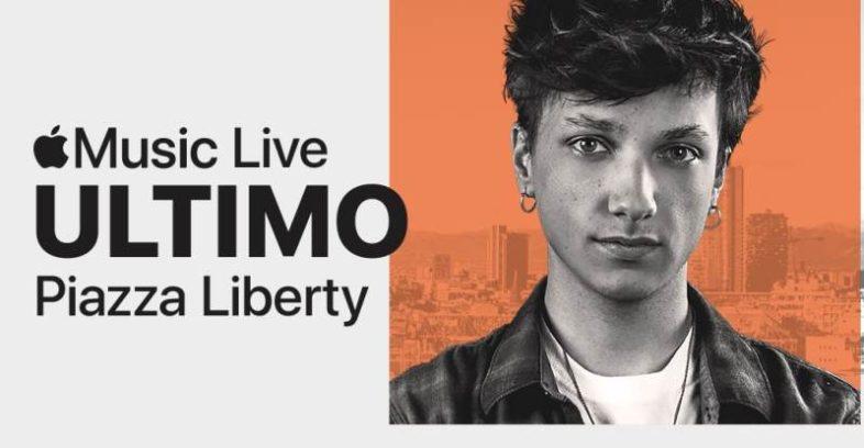 ULTIMO giovedì 10 alla APPLE MUSIC LIVE a MILANO