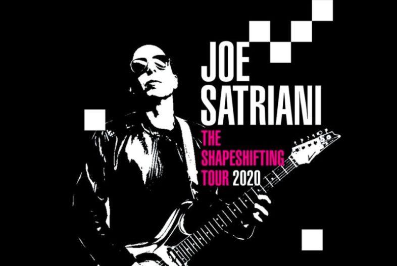 JOE SATRIANI: torna in Italia per 5 concerti