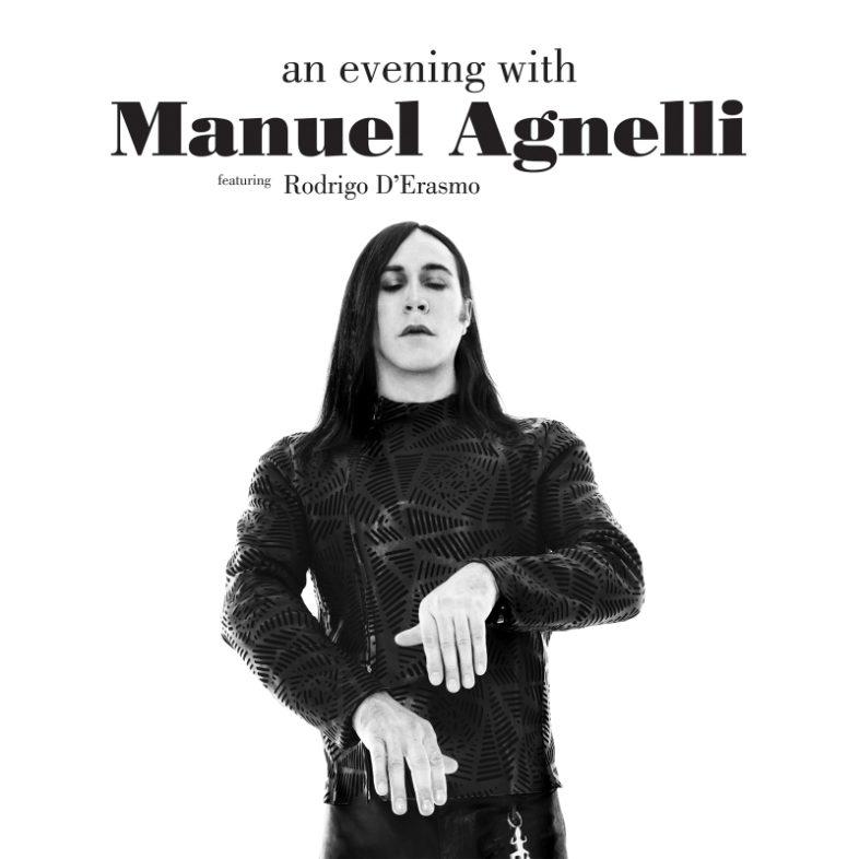 """MANUEL AGNELLI: Esce il 22 novembre il vinile di """"An Evening With Manuel Agnelli"""""""