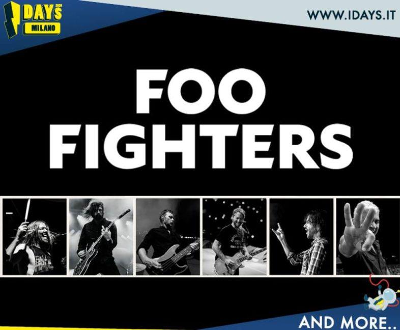 IDAYS 2020: i FOO FIGHTERS tra gli headliner