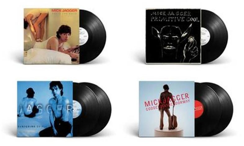 MICK JAGGER: gli album solisti in vinile
