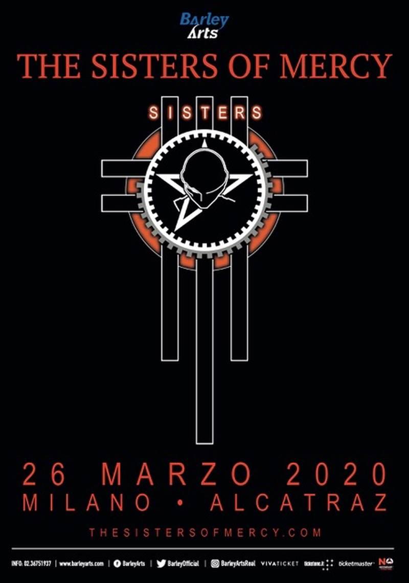 THE SISTERS OF MERCY il ritorno live a marzo a Milano - Newsic