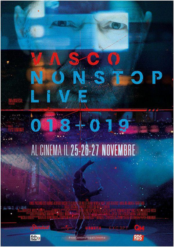 VASCO NON STOP LIVE 018+019: la recensione del film