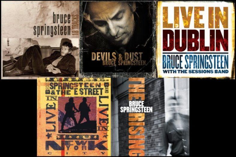 BRUCE SPRINGSTEEN 5 album ristampati in vinile per la prima volta