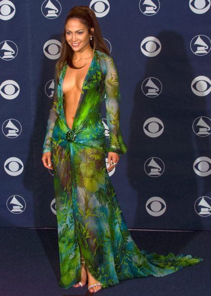 Jennifer Lopez Grammy 2000 Versace