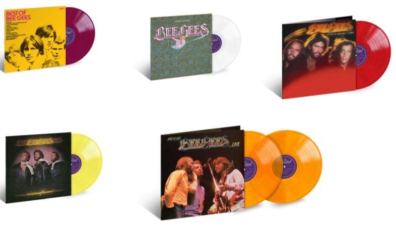 BEE GEES a maggio escono in vinile cinque album rimasterizzati
