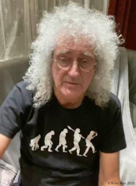 Coronavirus: BRIAN MAY insegna l'assolo di Bohemian Rhapsody