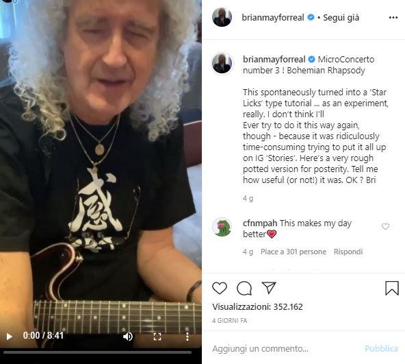 Brian May Bohemian Rhapsody
