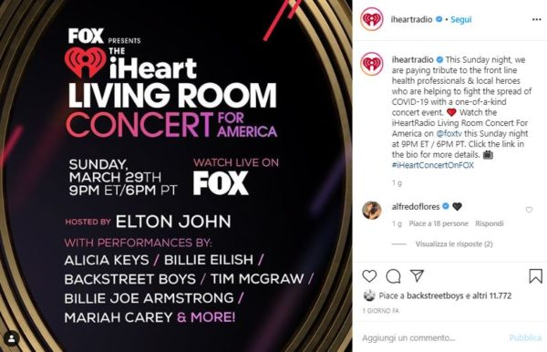 iHeart Living Room Concert For America