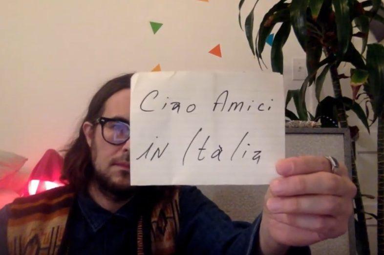 JOAN AS POLICE WOMAN e ELVIS PERKINS mandano messaggi di solidarietà agli italiani