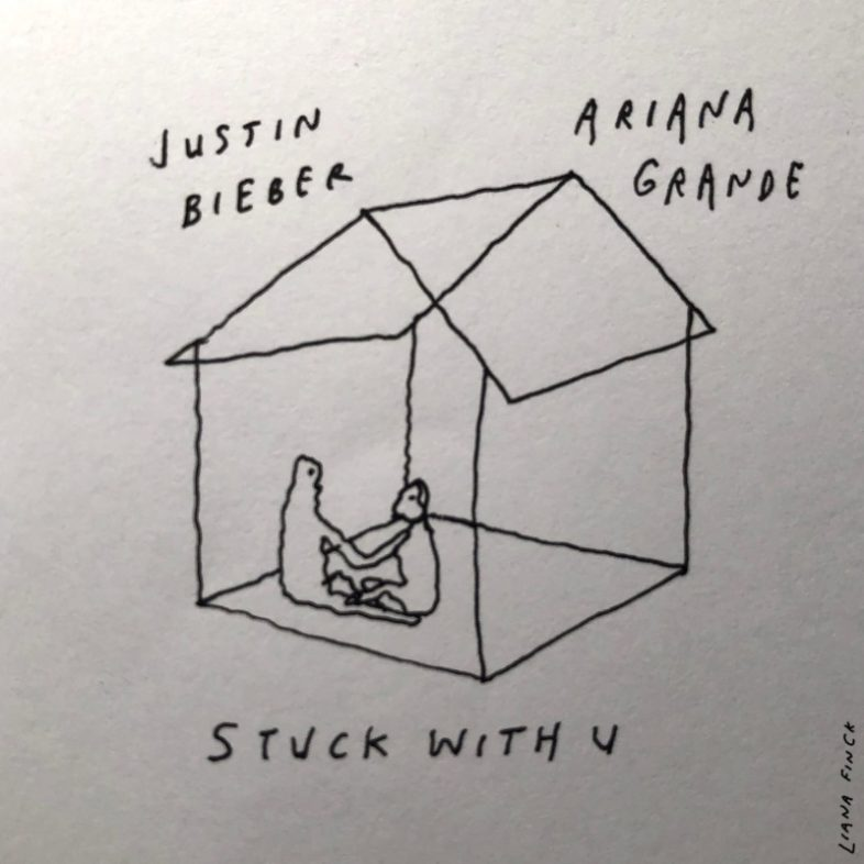 "ARIANA GRANDE E JUSTIN BIEBER ""Stuck With U"" brano in beneficenza"