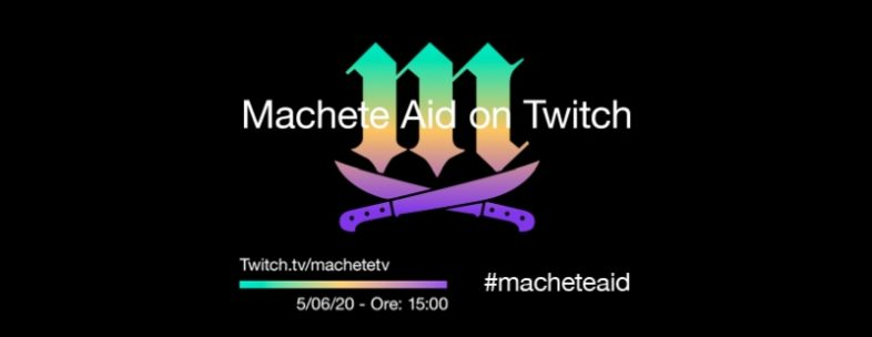 Machete Aid on Twitch 12 h live streaming