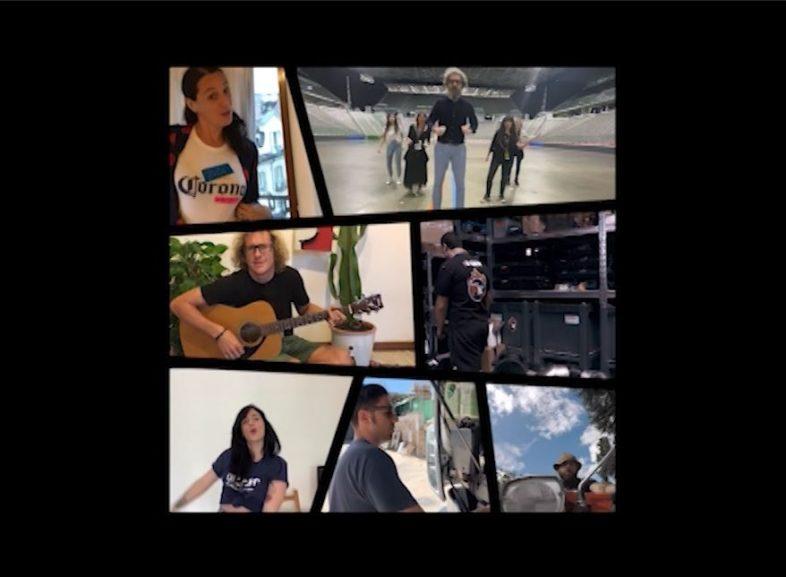 Video: NOI NON SIAMO INVISIBILI, i lavoratori dello spettacolo diventano le voci della DPCM Squad