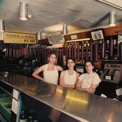 UK ALBUM: N.ro 1 <br>HAIM – Women In Music Pt. 3