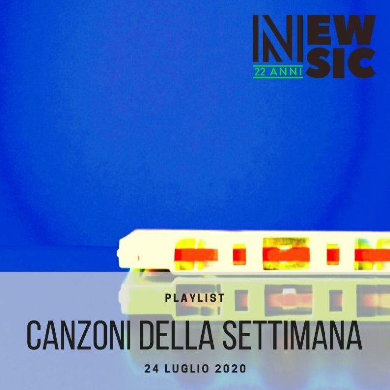 CANZONI DELLA SETTIMANA: le nuove uscite discografiche (24 Luglio) New Music Friday