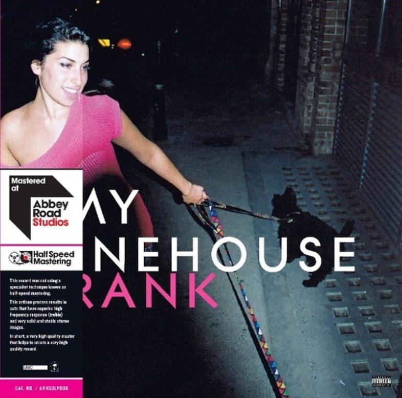 """AMY WINEHOUSE """"Frank"""" uscirà in versione doppio vinile Half Speed Mastering"""