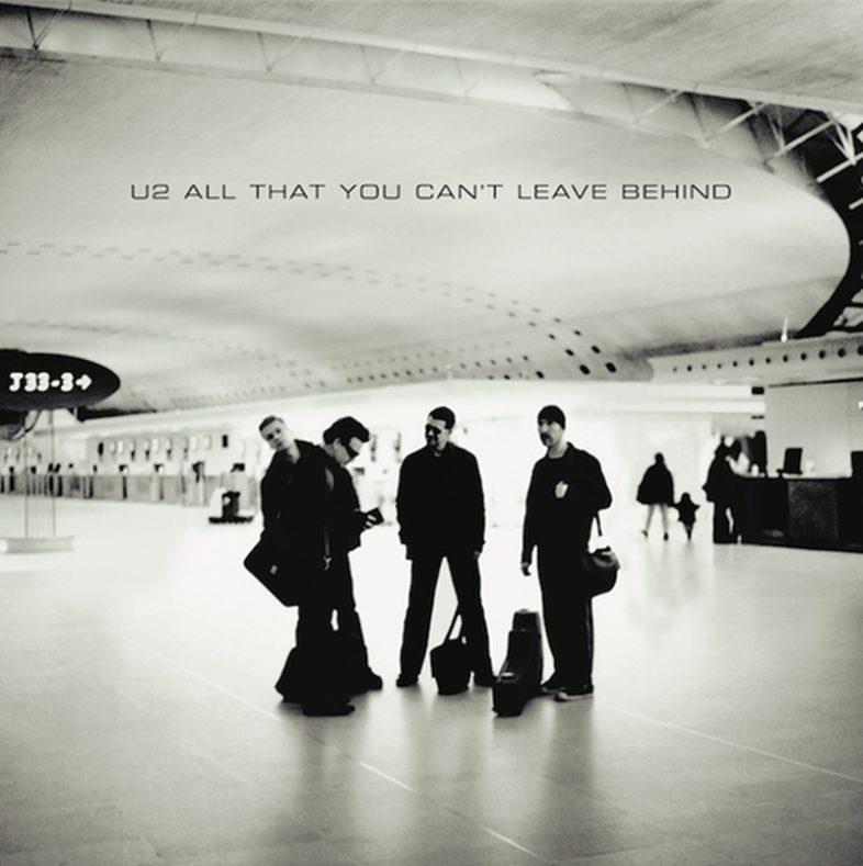 """U2 """"All That You Can't Leave Behind"""" riedizione multiformato in occasione del 20° Anniversario"""