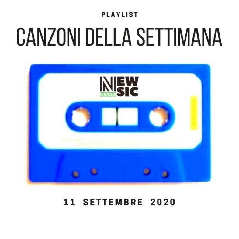 CANZONI DELLA SETTIMANA: le nuove uscite discografiche (11 Settembre) New Music Friday
