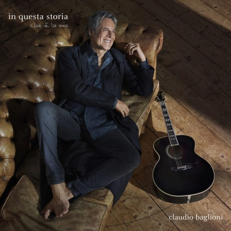 """CLAUDIO BAGLIONI: """"In questa storia, che è la mia"""" è il titolo del nuovo disco. La copertina"""