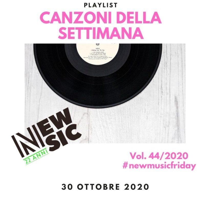 CANZONI DELLA SETTIMANA: le nuove uscite discografiche (30 Ottobre) New Music Friday