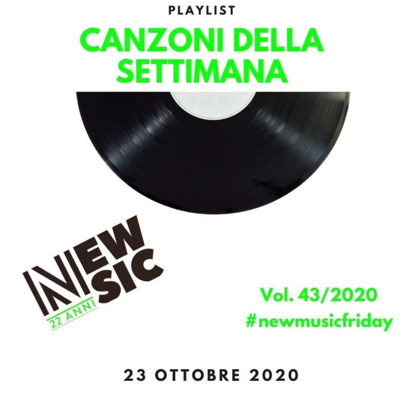 CANZONI DELLA SETTIMANA: le nuove uscite discografiche (23 Ottobre) New Music Friday