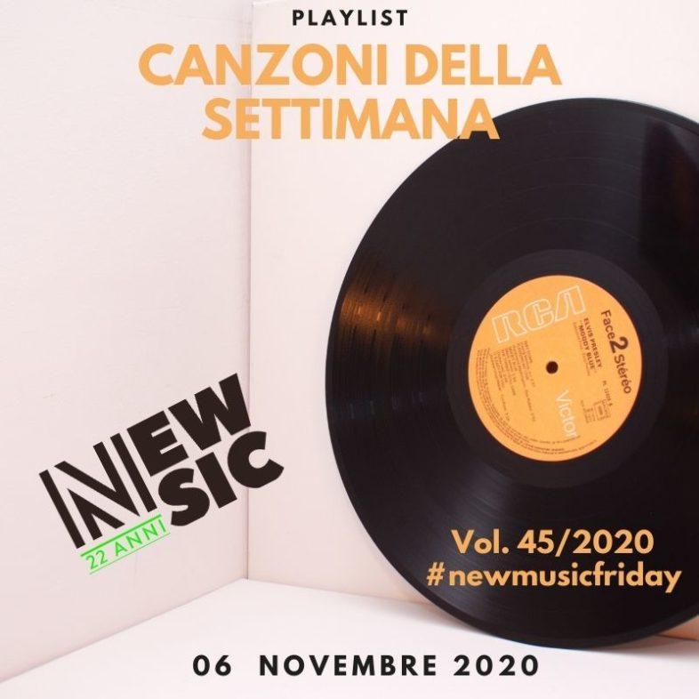 CANZONI DELLA SETTIMANA: le nuove uscite discografiche (06 Novembre) New Music Friday