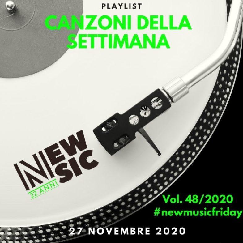 CANZONI DELLA SETTIMANA: le nuove uscite discografiche (27 Novembre) New Music Friday