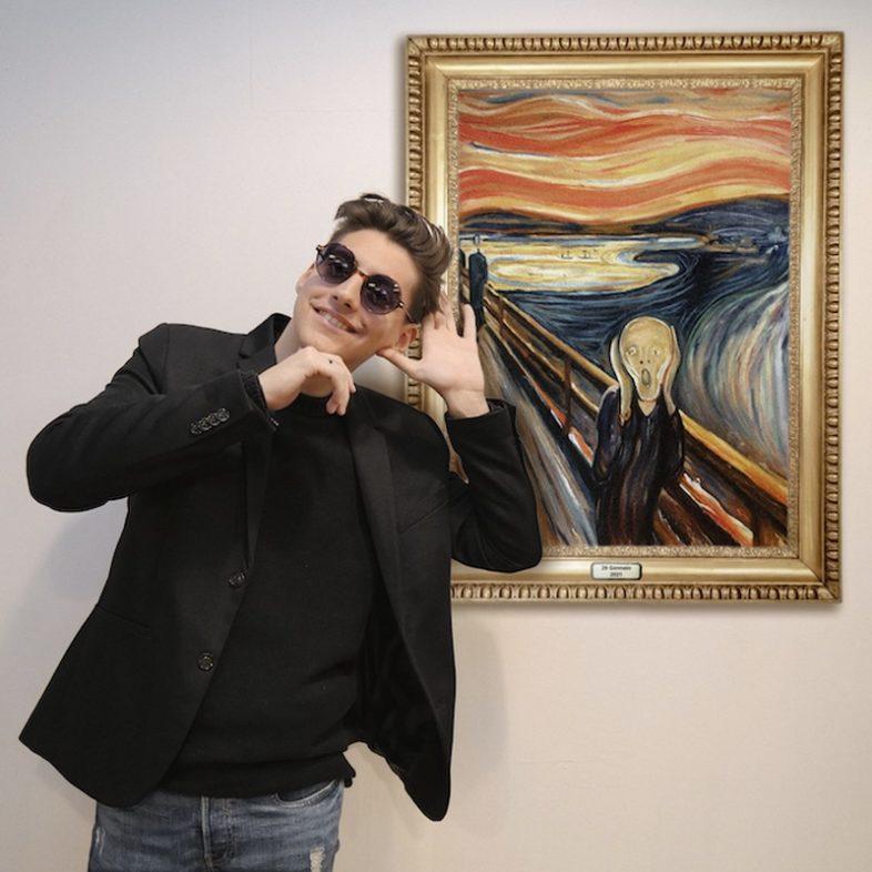 """EMANUELE ALOIA dopo Klimt e van Gogh è """"L'urlo di Munch"""" il suo nuovo singolo"""