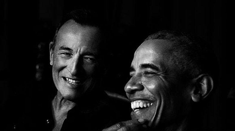 Ascolta Il nuovo podcast di Barack Obama e Bruce Springsteen