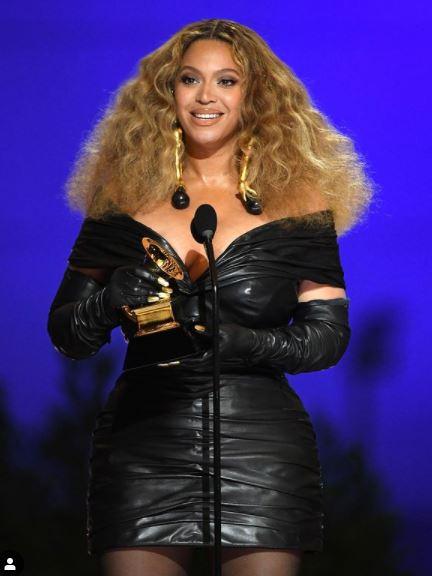 Beyonce Grammy 2021