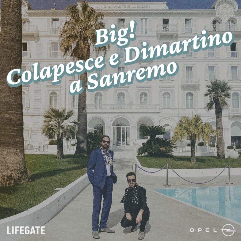"""COLAPESCE DIMARTINO: esce il loro podcast """"BIG!"""" la storia del loro Festival"""