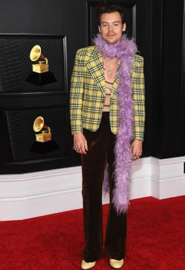 Harry Styles Grammy 2021