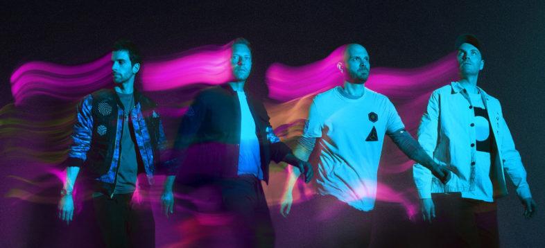 COLDPLAY il loro nuovo singolo lanciato dallo spazio