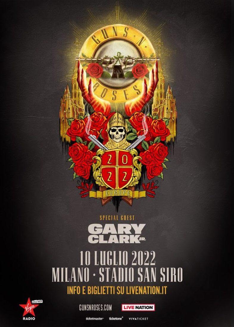 GUNS N' ROSES live il 10 luglio 2022 a San Siro. Info e biglietti